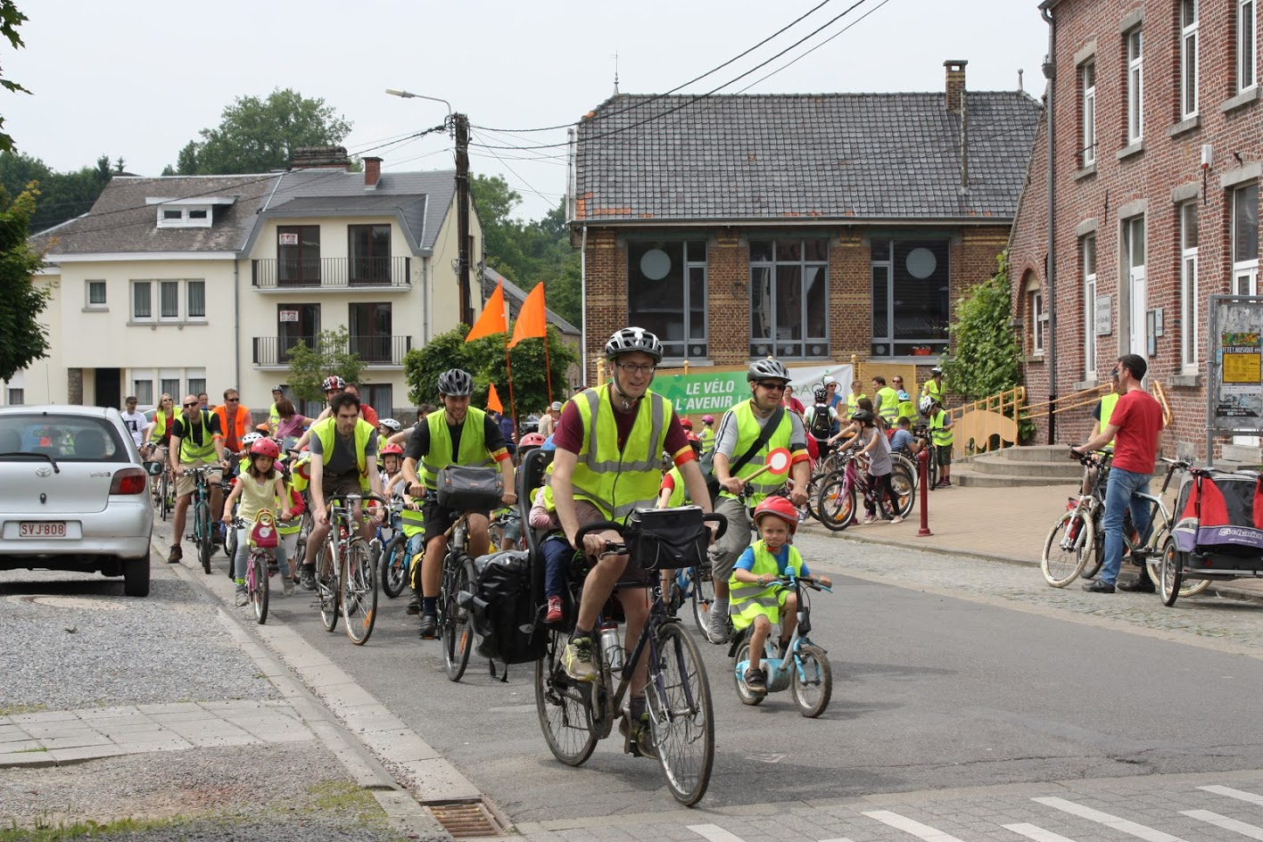Balade Vélo Gracq Gembloux Association Parent Grand-Manil